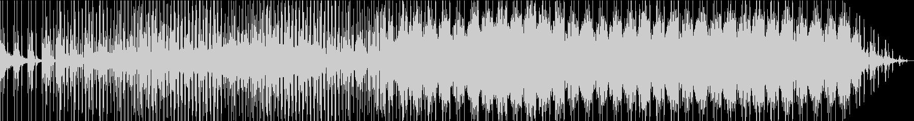 シンセサイザーがメインのゆったりポップスの未再生の波形