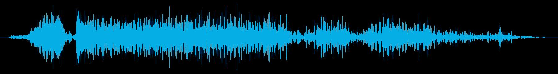 カエル モンスター ゲーム 勝利時の再生済みの波形