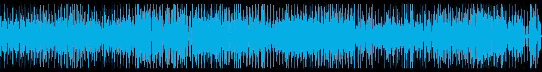 アダルトなインストジャズピアノバンドの再生済みの波形
