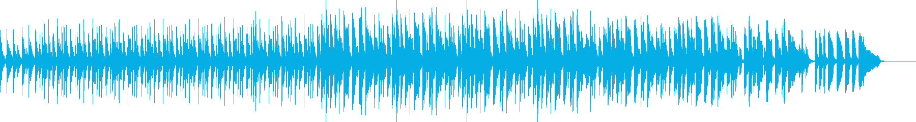 スローテンポベース抜きverの再生済みの波形