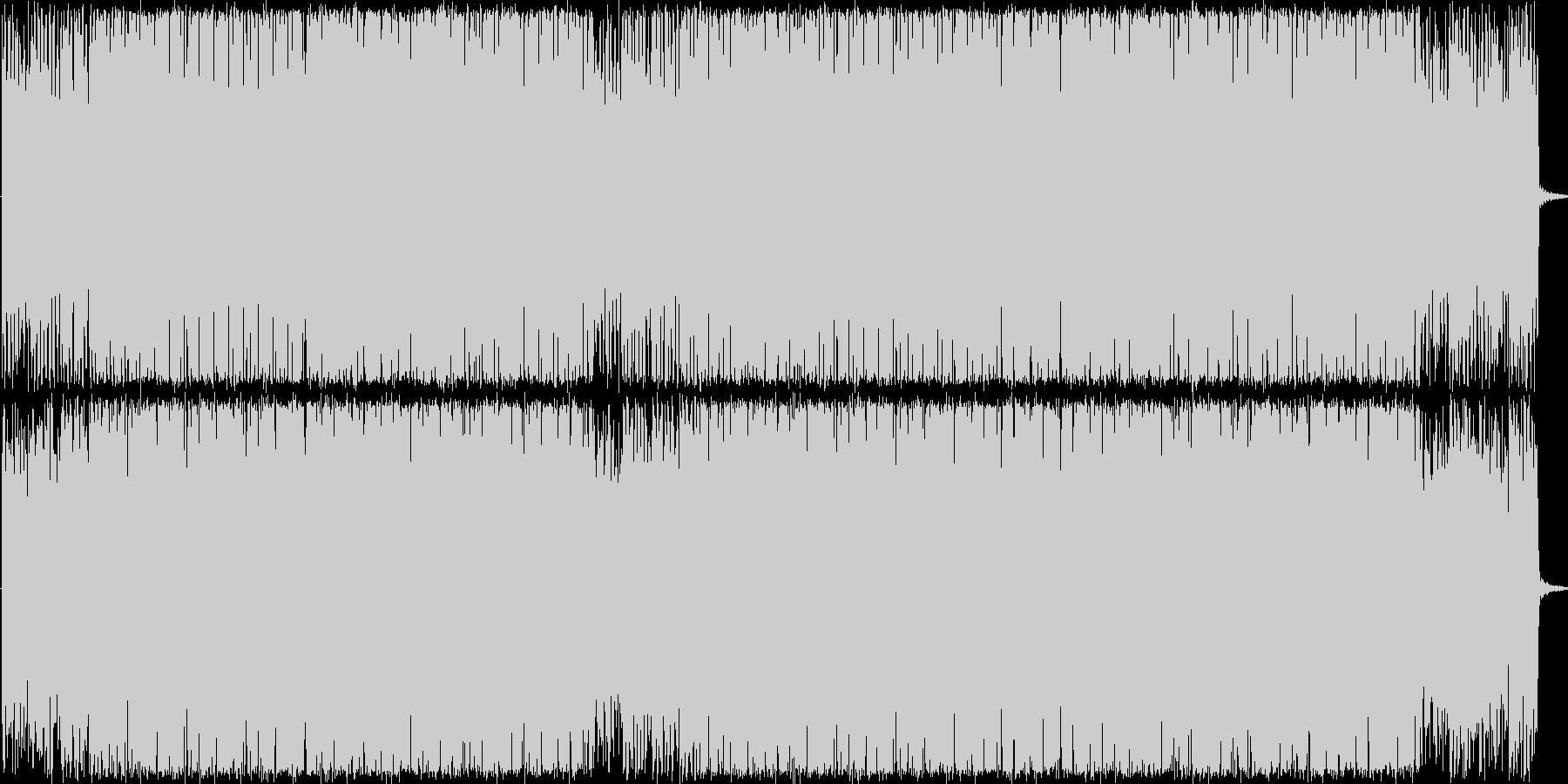 不思議なコード感が漂うジャージーな曲ですの未再生の波形
