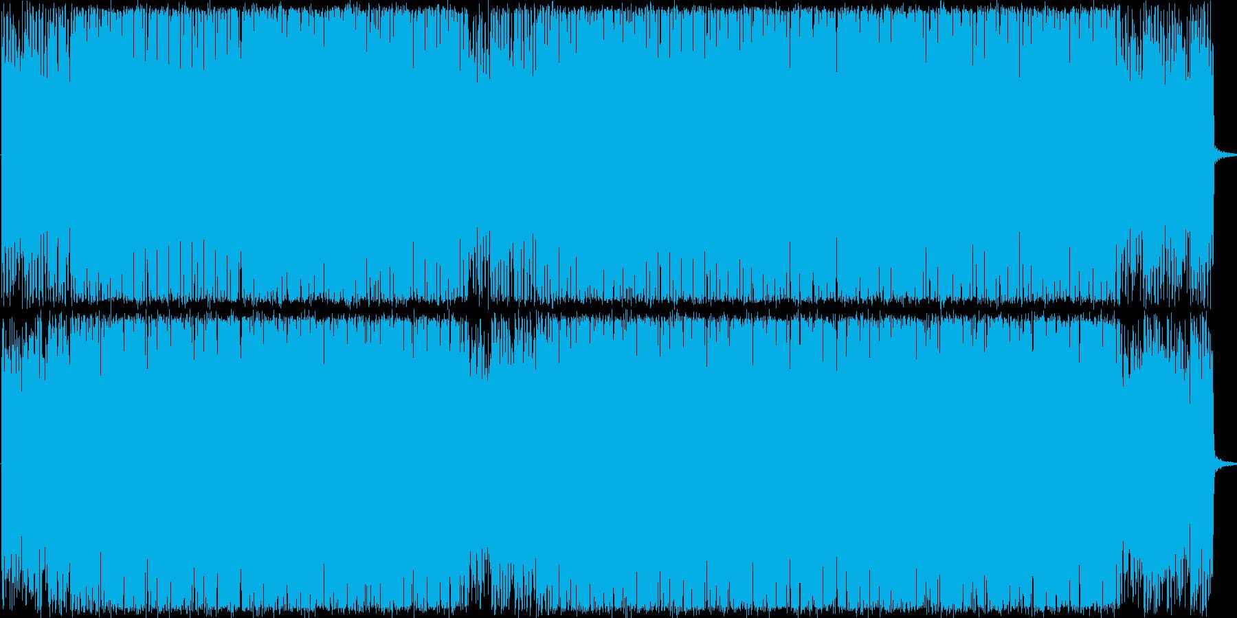 不思議なコード感が漂うジャージーな曲ですの再生済みの波形