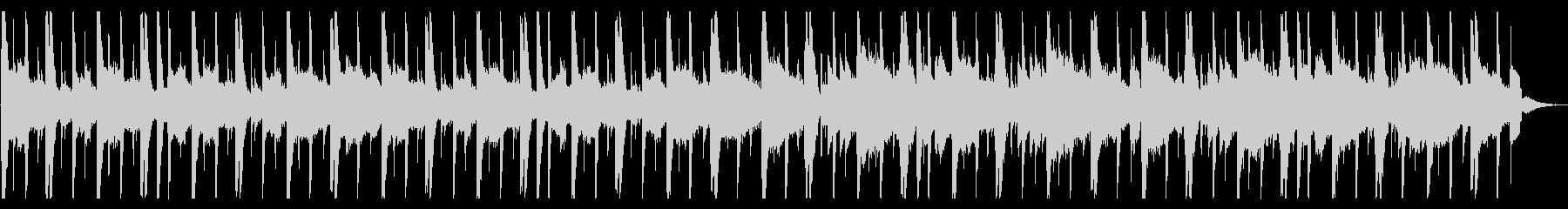 溶けそうなR&B_No635_2の未再生の波形