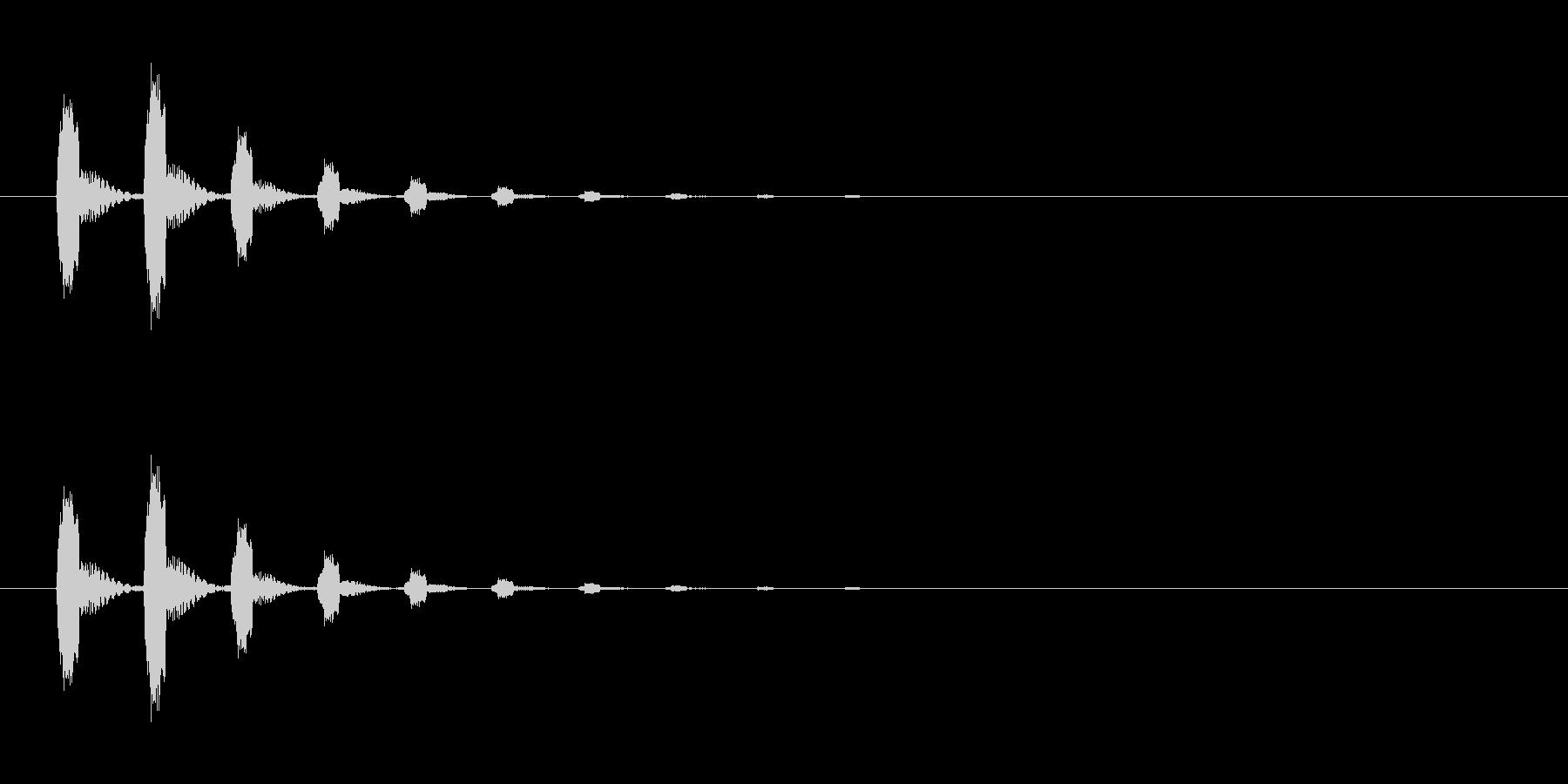 【びっくり04-1】の未再生の波形