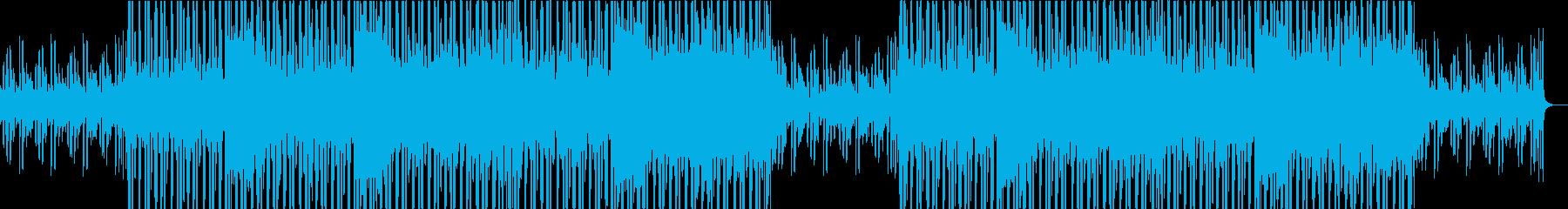 現代的なピアノとオリエンタルなエレクトロの再生済みの波形