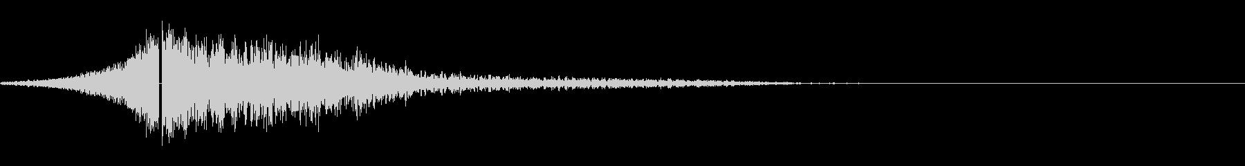 爆発;着信および影響01の未再生の波形