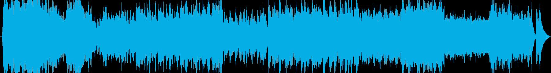 戦地への行進(オーケストラとコーラス隊)の再生済みの波形