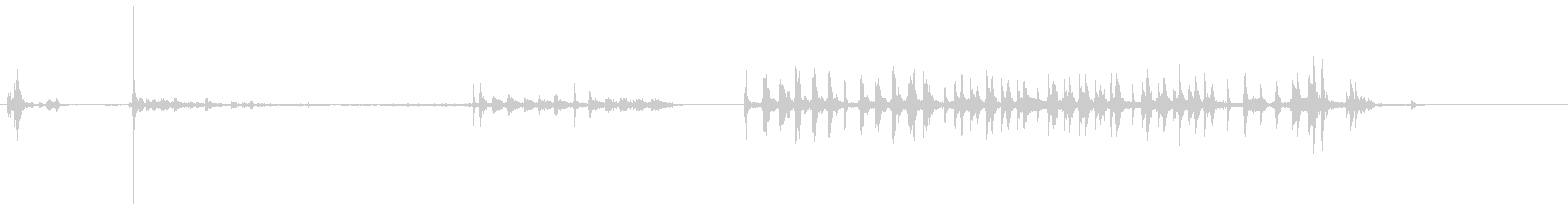 ピンボールマシン:1956:ロング...の未再生の波形