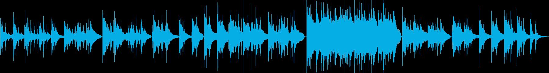 情緒と感情的なシーンをピアノで演出の再生済みの波形