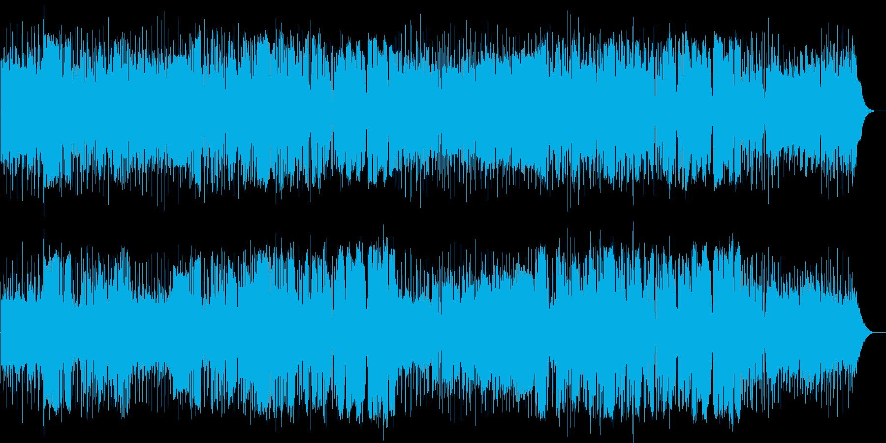 英語洋楽:初期ビートルズ・アコギ爽やか系の再生済みの波形