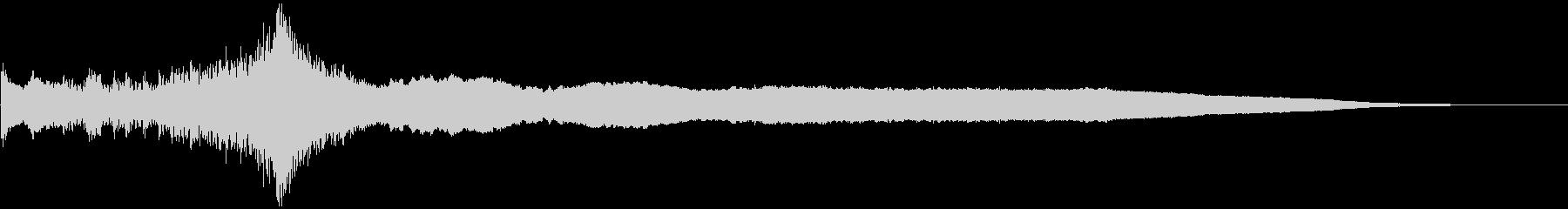 【ライザー】SF映画_08 ウイーンッ!の未再生の波形