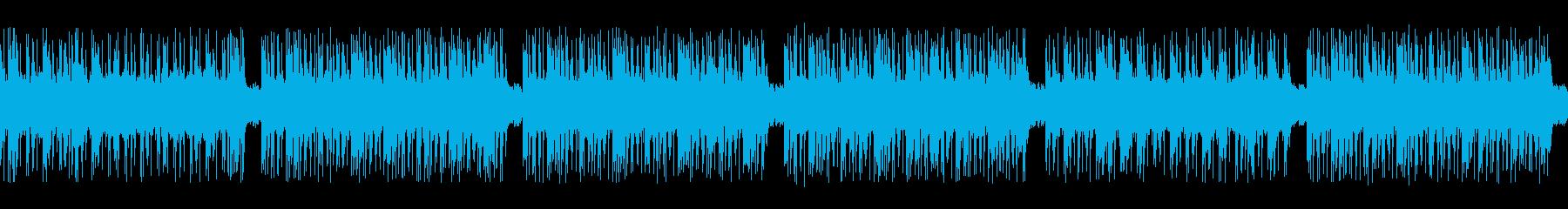 ゲーム映画バトル用攻撃的2-3ループ処理の再生済みの波形