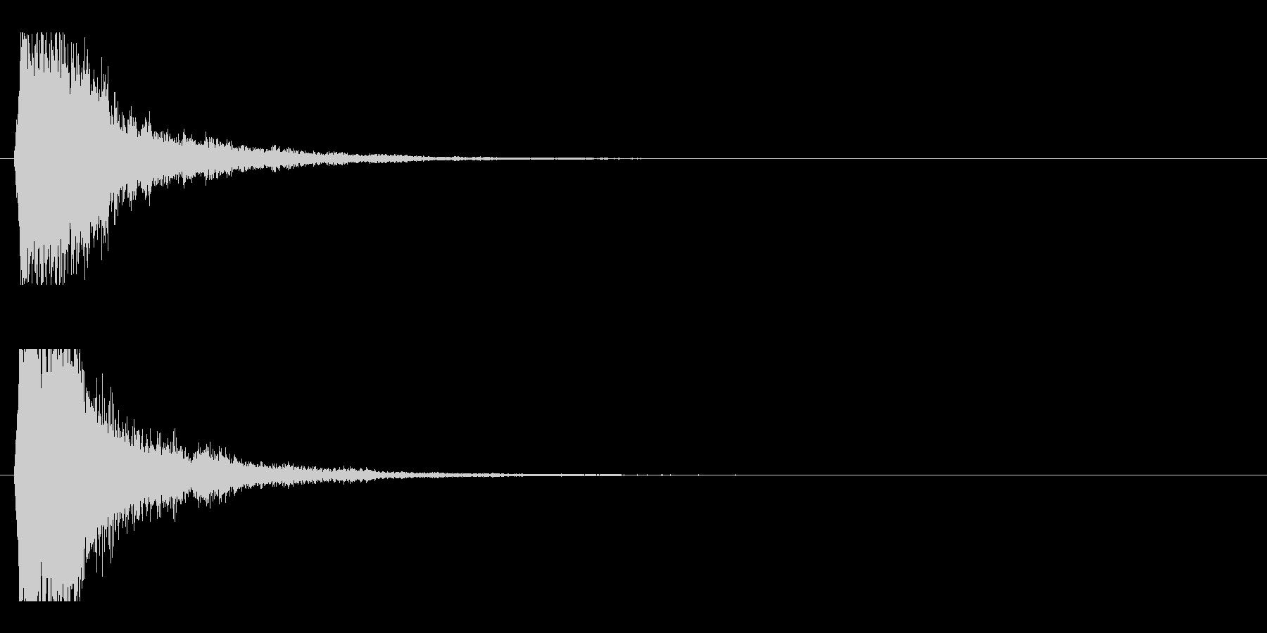 レーザー音-49-1の未再生の波形