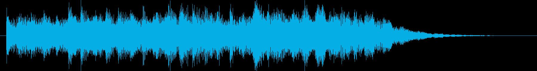 おしらせチャイム(さわやか)の再生済みの波形