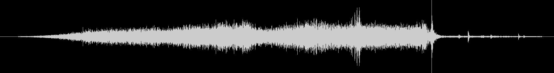 シボレーカマロ:内線:中速で左に接...の未再生の波形