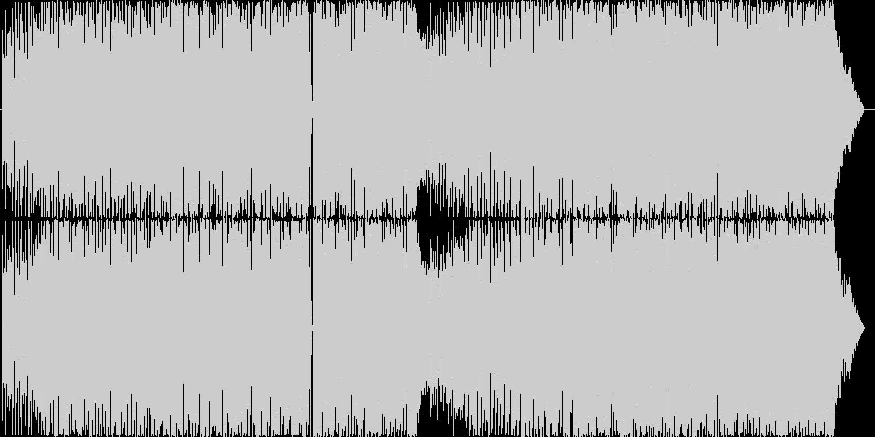若々しい陽気なエレクトロポップの未再生の波形