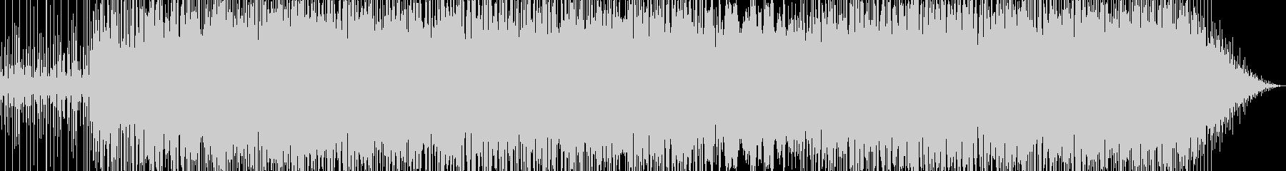 煌く音のポップ・ファンク・ロックの未再生の波形