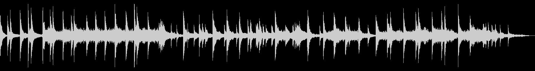 映像・ナレーション用ピアノ演奏(別れ)の未再生の波形