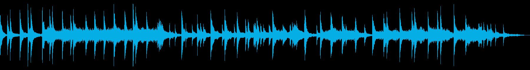 映像・ナレーション用ピアノ演奏(別れ)の再生済みの波形