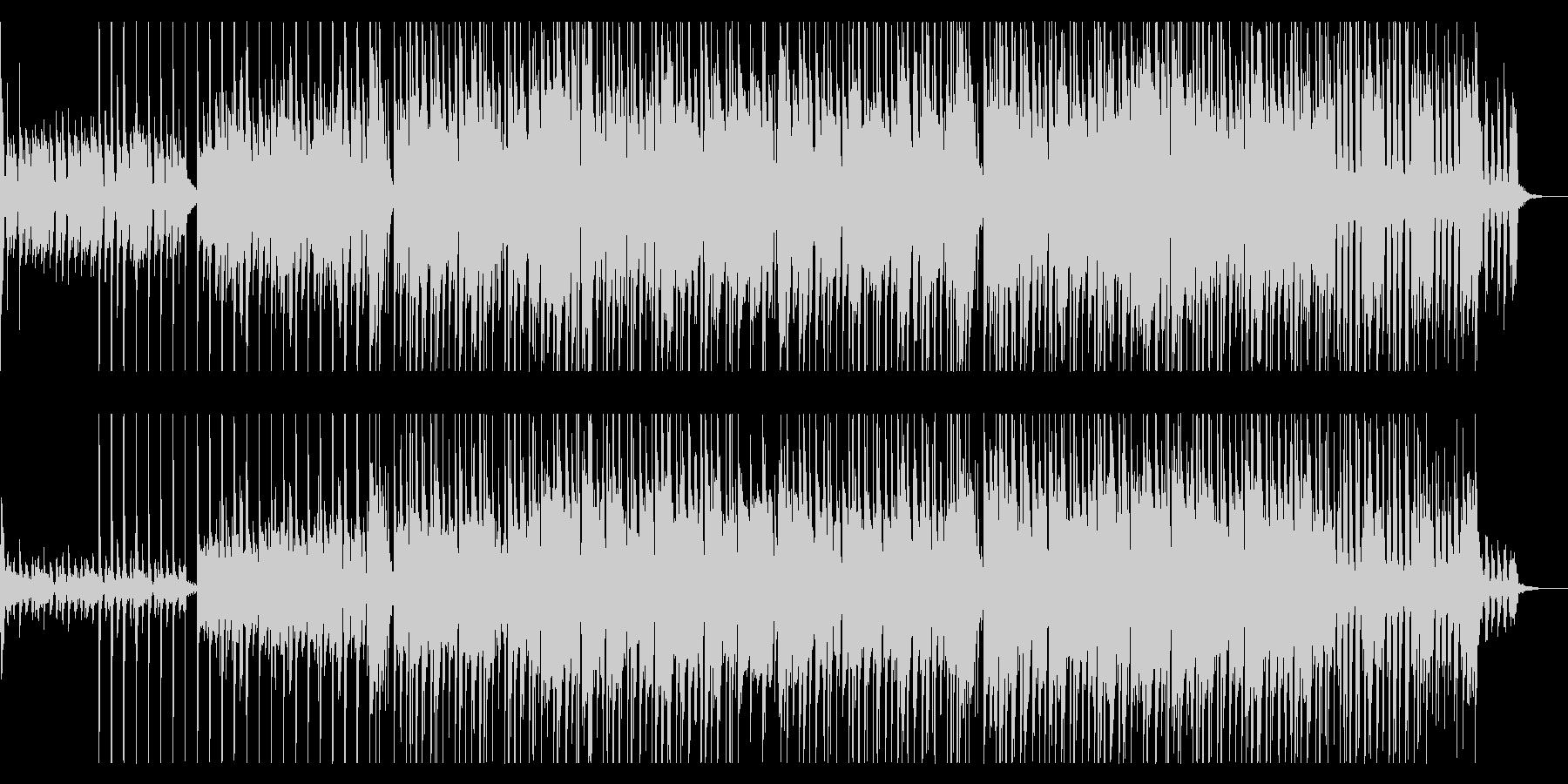 クールでリズミカルなジャズ風サウンドの未再生の波形