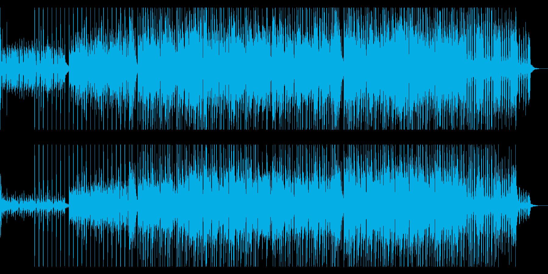 クールでリズミカルなジャズ風サウンドの再生済みの波形