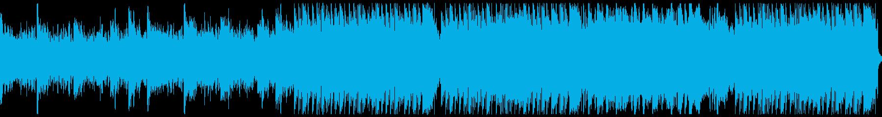 悲壮感jがあるピアノとストリングスの曲の再生済みの波形