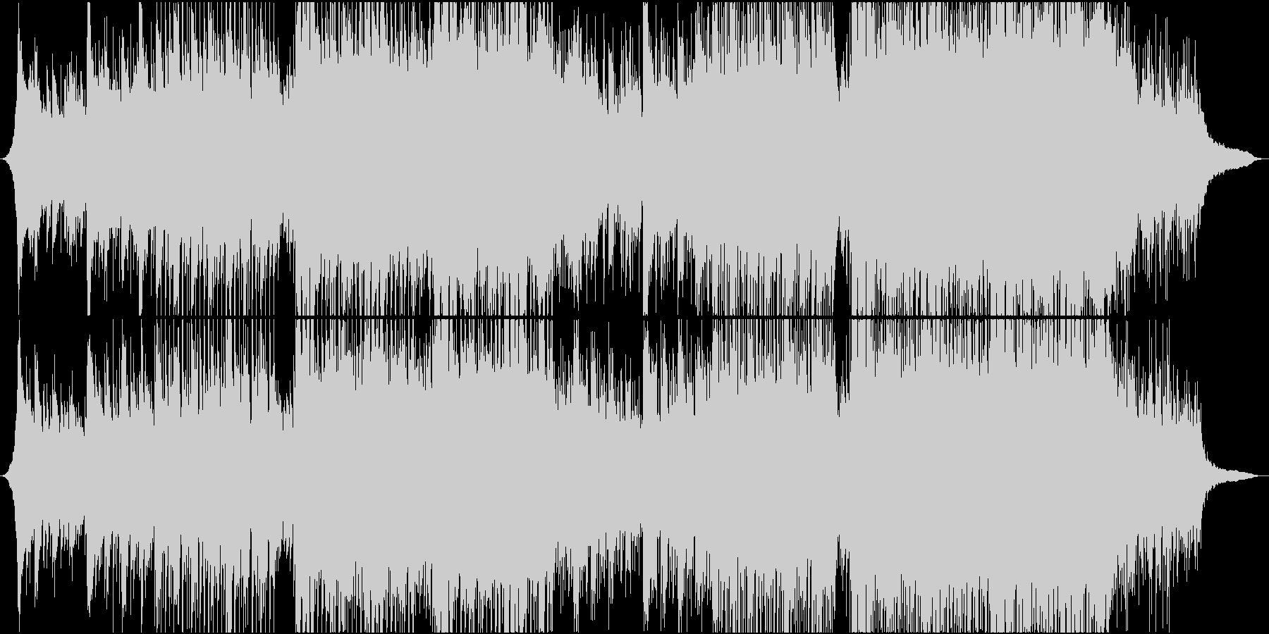 エレキギター/感動/ダンス/企業VPの未再生の波形
