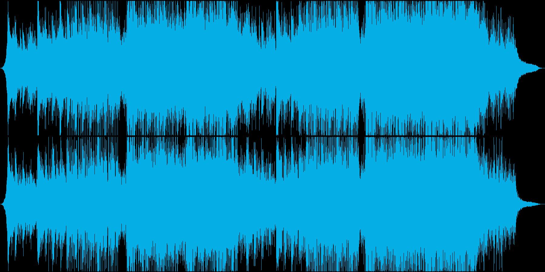 エレキギター/感動/ダンス/企業VPの再生済みの波形