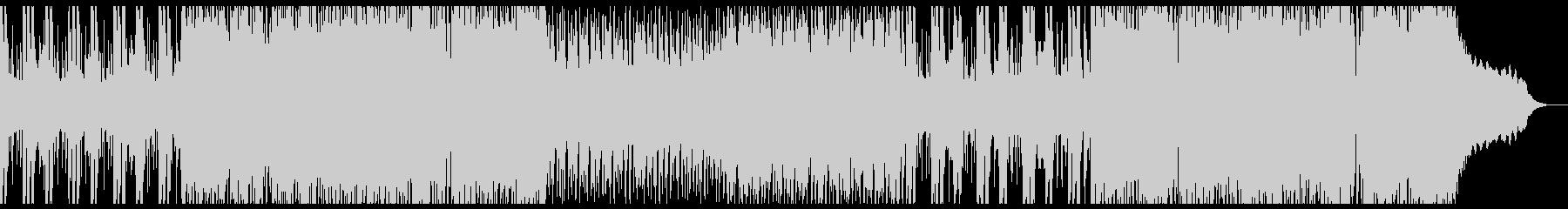 ヘヴィなリフのインダストリアルロックの未再生の波形