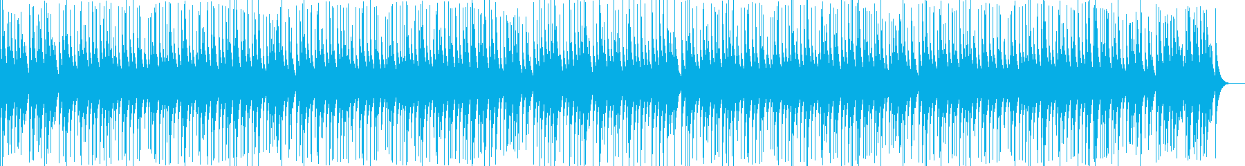 オルゴール曲/楽しいポップ、かわいい動物の再生済みの波形