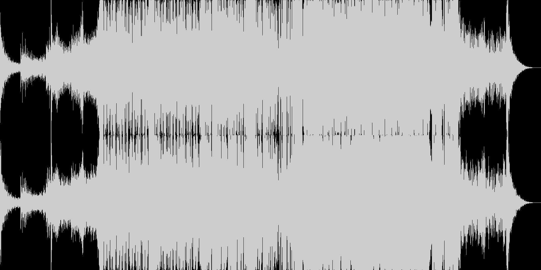 動画のBGM用途な優しめなダブステップの未再生の波形