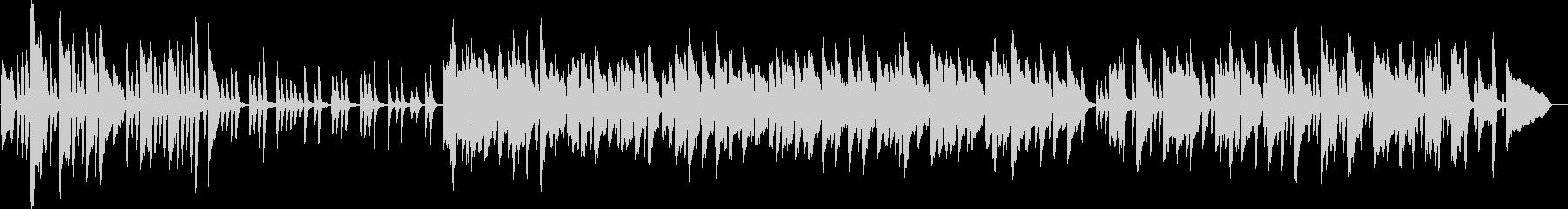 ラジオ体操風ピアノ曲(爽やか・軽やか)の未再生の波形