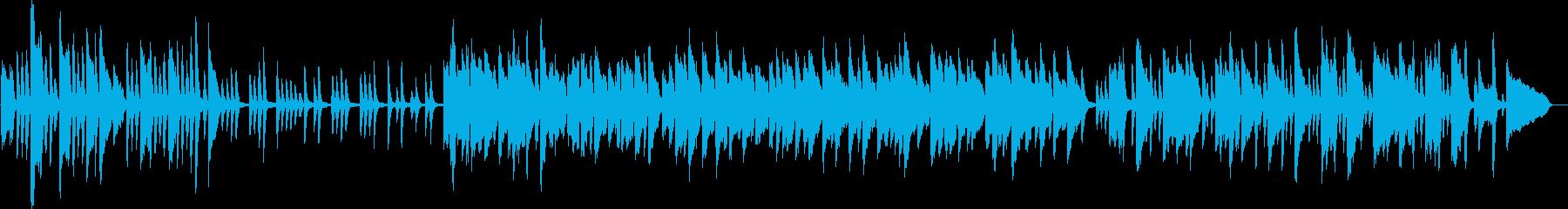 ラジオ体操風ピアノ曲(爽やか・軽やか)の再生済みの波形