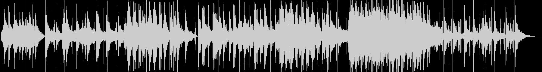 美しく透明感のあるシンセサイザーサウンドの未再生の波形