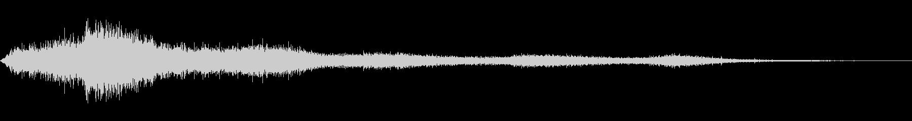 【生録音】 早朝の街 交通 環境音 23の未再生の波形
