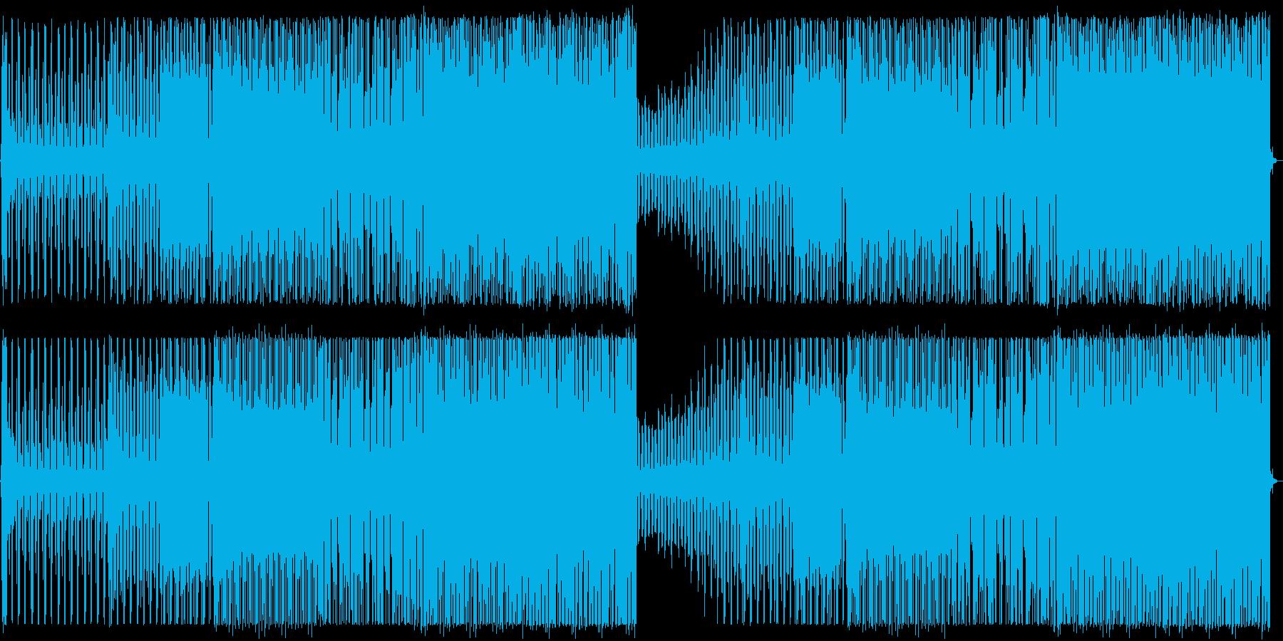 爽やかなトロピカルハウス_No586_1の再生済みの波形