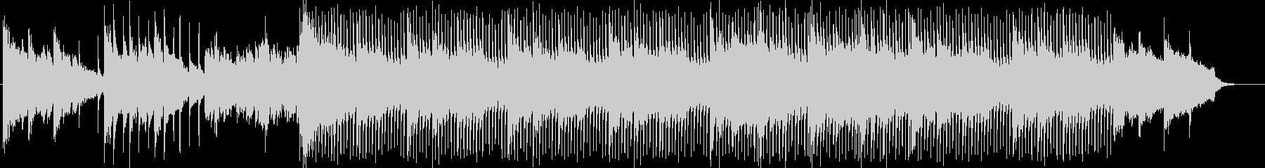 ピアノとストリングスによる綺麗なBGMの未再生の波形