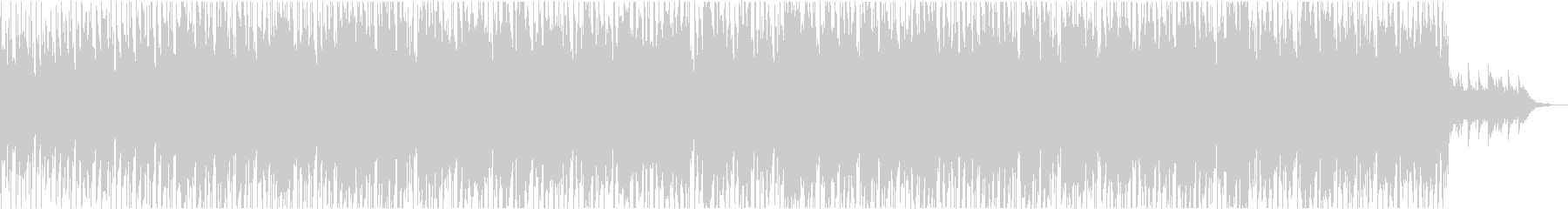 エレキギターの哀愁漂うBGMの未再生の波形