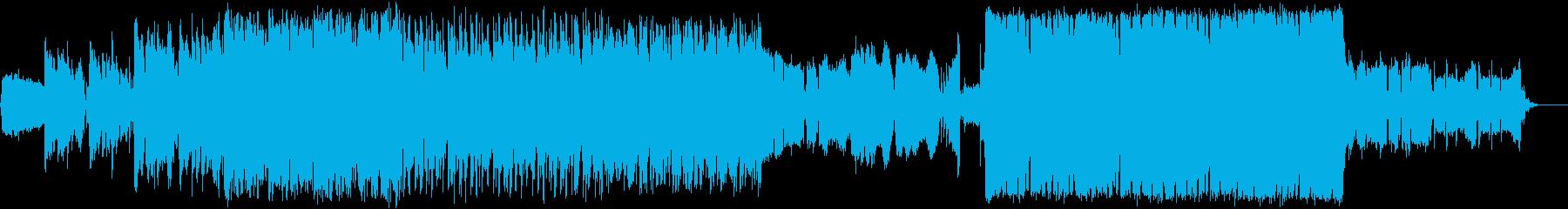 企業VP、映像向けクールなネオソウルの再生済みの波形