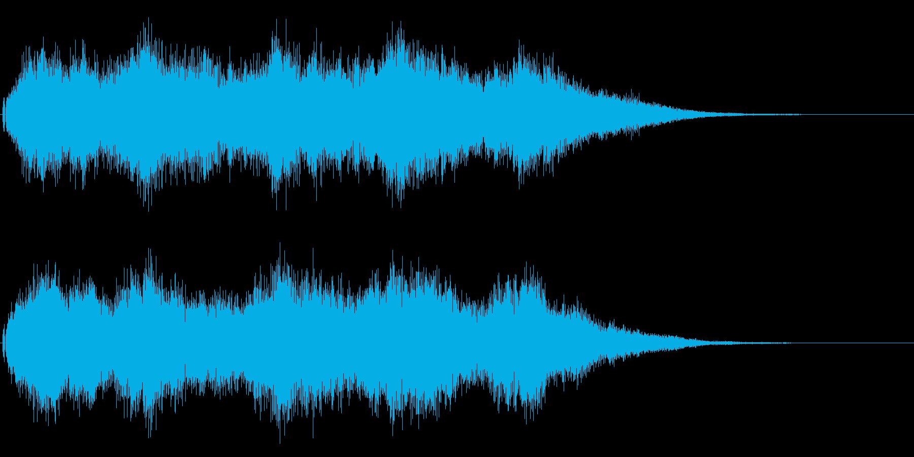 結婚式や教会の鐘の音として最適です!01の再生済みの波形