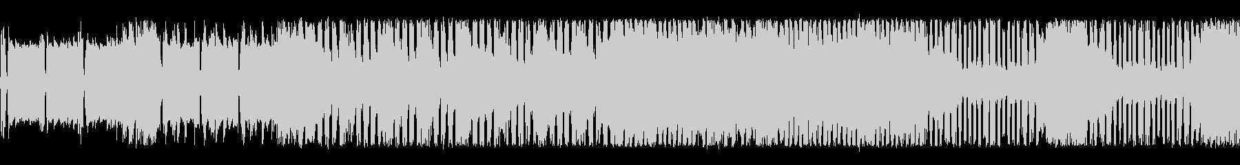スタイリッシュなチップチューンサウンドの未再生の波形