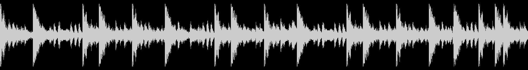 70 BPMの未再生の波形
