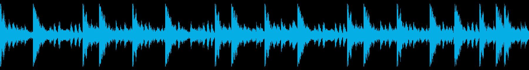 70 BPMの再生済みの波形