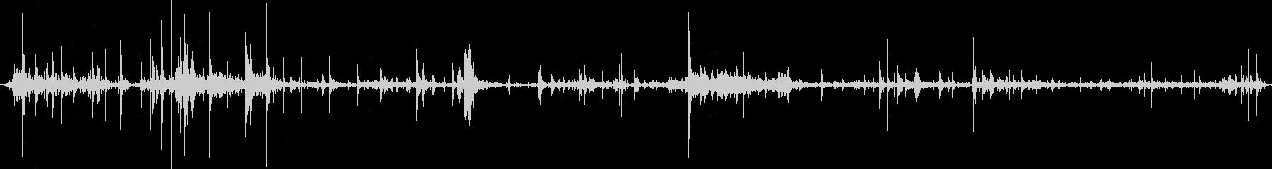 自動ボディメタルのカチカチ音をたて...の未再生の波形