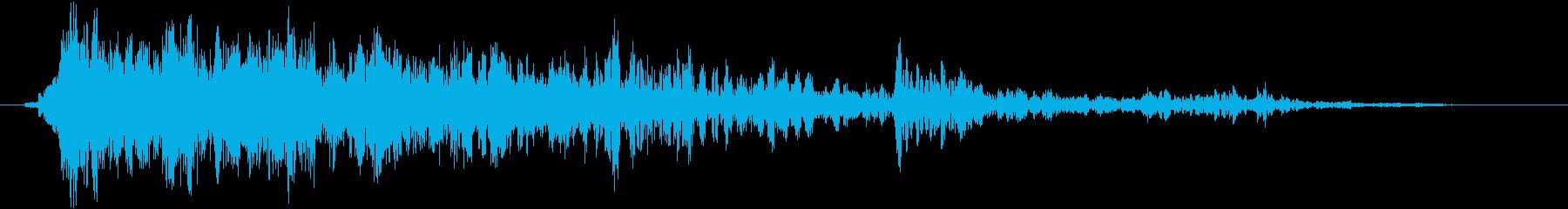 衝撃 スマッシュ25の再生済みの波形