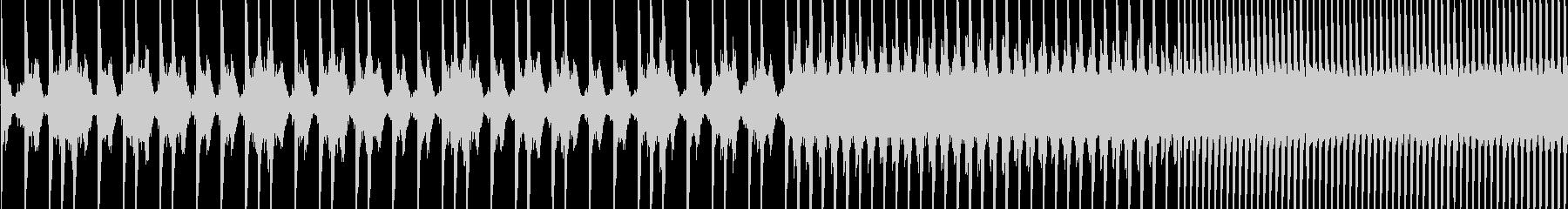 EDMスネアロールの未再生の波形