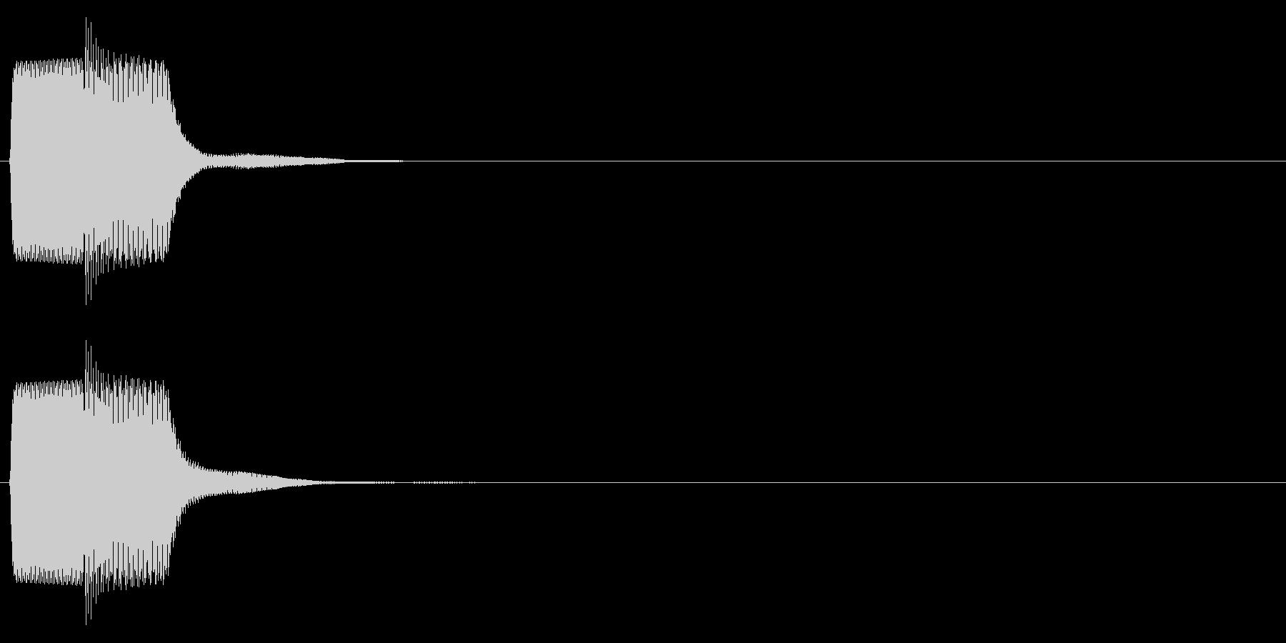 ピコン_鋸波(終了,停止,通知)_03の未再生の波形
