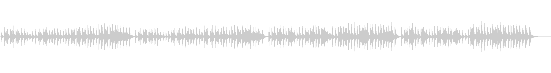ピアノソロ、チェルニー No.59の未再生の波形