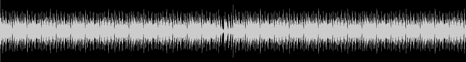 クラブ的な変拍子ジャジーピアノの未再生の波形