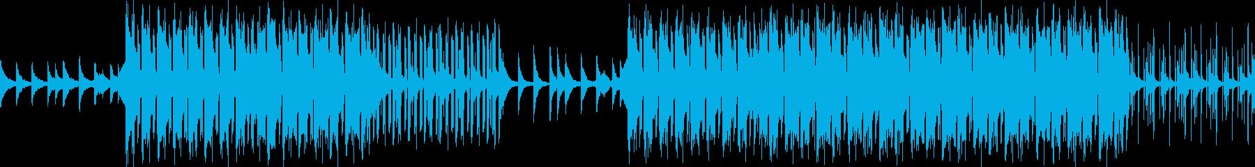 ループ可能・ダークなヒップホップビートの再生済みの波形